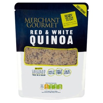 Merchant Gourmet Microwave Ready to eat Red & White Quinoa 250g - Grocemania