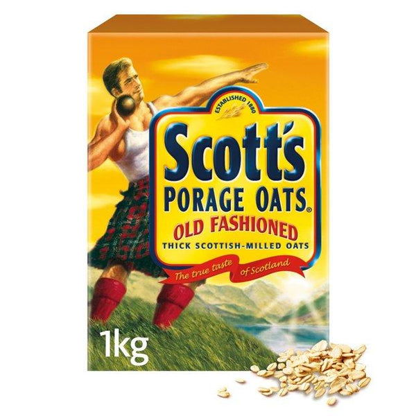 Grocemania Grocery Delivery London| Scotts Porage Oats 1KG