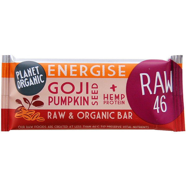 Grocery Delivery London - Planet Organic Pumpkin & Goji Bar same day delivery