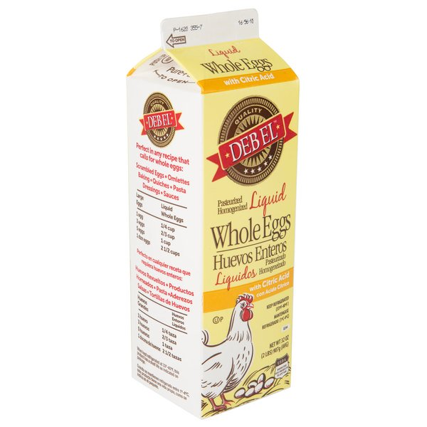Grocery Delivery London - Liquid Whole Egg Carton 1L same day delivery