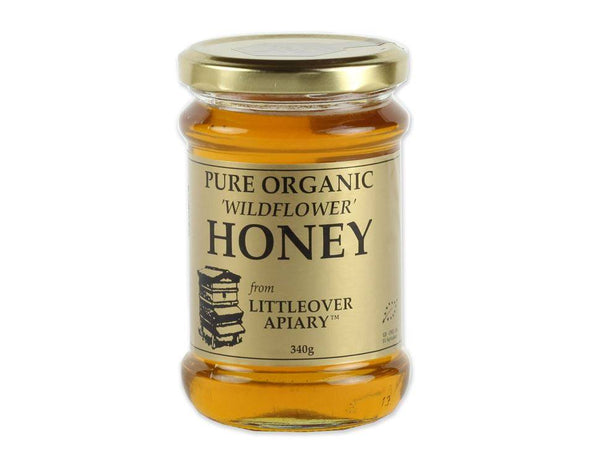 Grocemania | Littleover Apiary Wildflower Honey 340g | Online Grocery Delivery