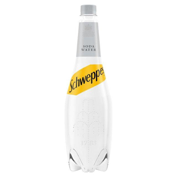 Grocemania Grocery Delivery London| Schweppes - Soda Water 1L