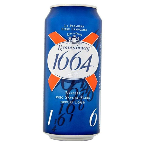 Grocemania Grocery Delivery London| Kronenbourg 1664 440ml