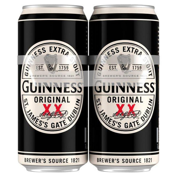 Grocery Delivery London - Guinness Original 4x500ml same day delivery