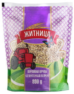 Grocery Delivery London - Pearl Groats, Perlovaya Krupa, Zhitnica 800g same day delivery