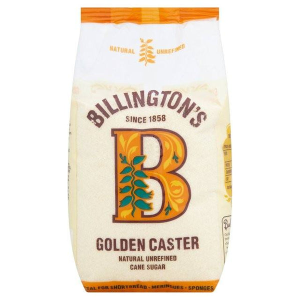 Grocemania Grocery Delivery London| Billington's Organic Golden Caster Sugar 500g