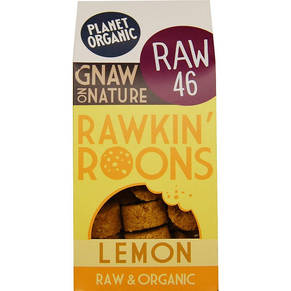Grocemania Grocery Delivery London| Planet Organic Lemon Rawkin' Roons 90g