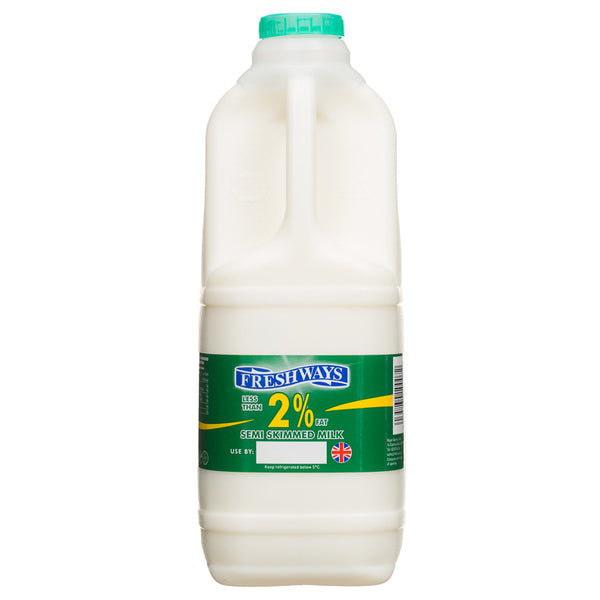 Grocery Delivery London - Freshways Skimmed Milk 2L same day delivery