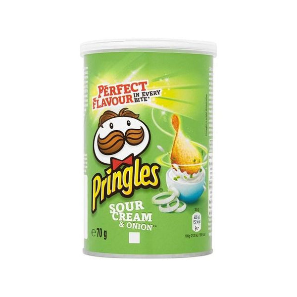 Grocemania Grocery Delivery London| Pringles Sour Cream & Onion 70g