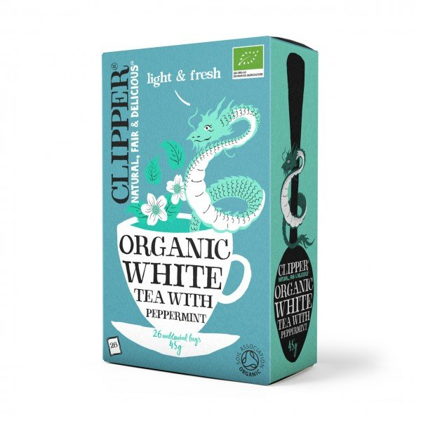 Grocemania Grocery Delivery London| Clipper Organic White Tea 26 bags