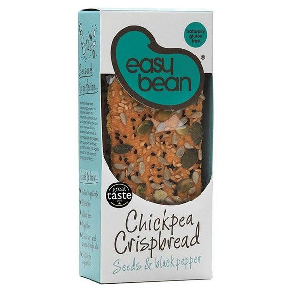 Grocemania Grocery Delivery London| Easy Bean Chickpea Crispbread 125g