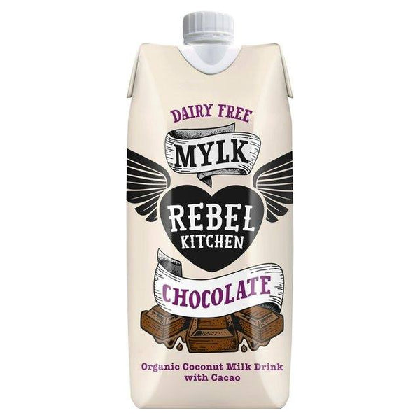 Grocemania Grocery Delivery London| Rebel Kitchen Chocolate Dairy Free Mylk 330ml