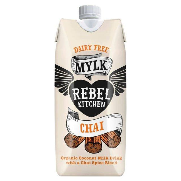Grocemania Grocery Delivery London| Rebel Kitchen Chai Dairy Free Mylk 330ml