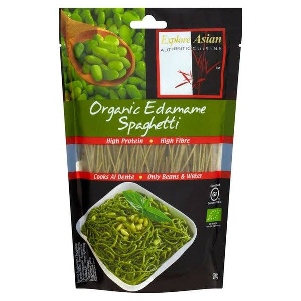 Grocemania Grocery Delivery London| Organic Edamame Spaghetti 200g