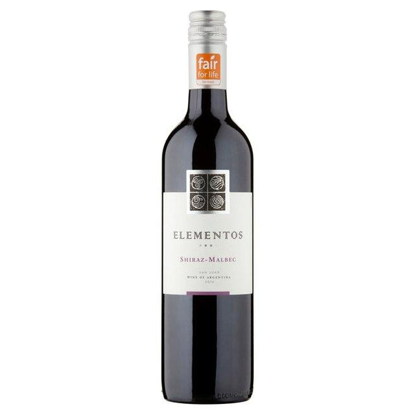 Grocemania Grocery Delivery London| Elementos Shiraz Malbec - Argentina 750ml