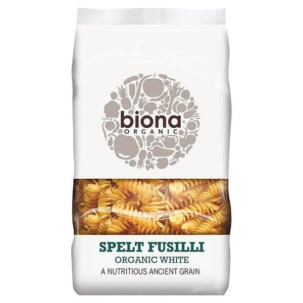 Grocemania Grocery Delivery London| Biona Organic Spelt Fusilli White 500g