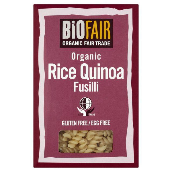 Grocery Delivery London - Biofair Organic Fair Trade Rice Quinoa Fusilli 250g same day delivery