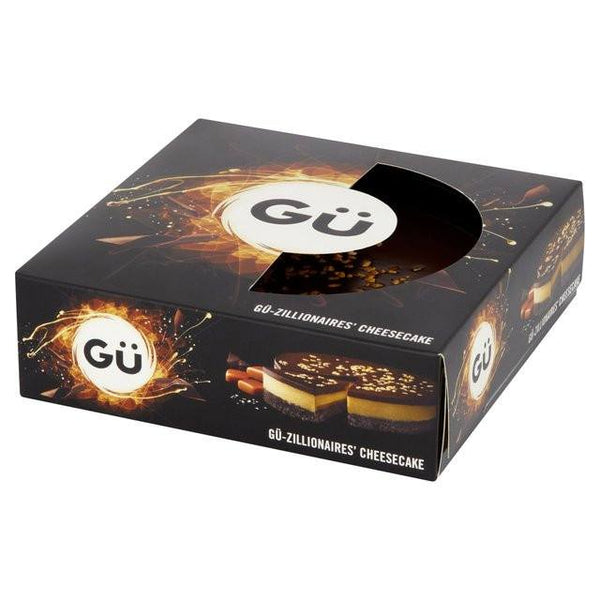 Grocemania Grocery Delivery London| Gü-Zillionaire Large Cheesecake 450g
