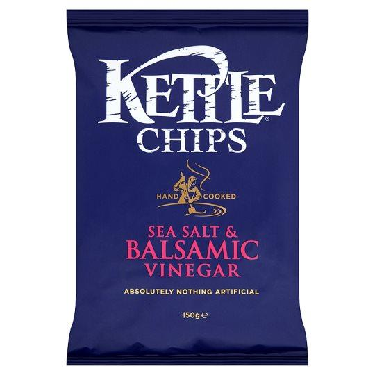 Grocery Delivery London - Kettle Sea Salt & Balsamic Vinegar 100g same day delivery