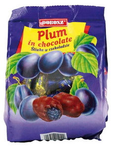 "Grocery Delivery London - Plums In Chockolate ""Sliwka""  300g same day delivery"