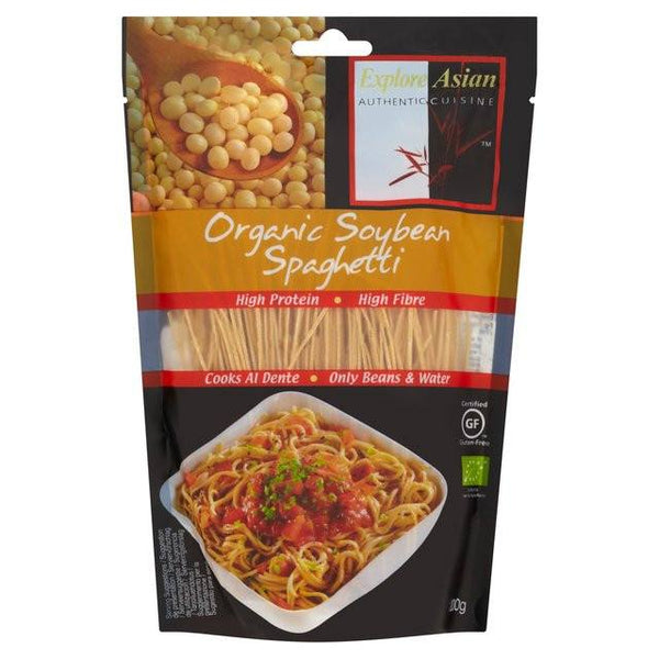 Grocemania Grocery Delivery London| Organic Soybean Spaghetti 200g