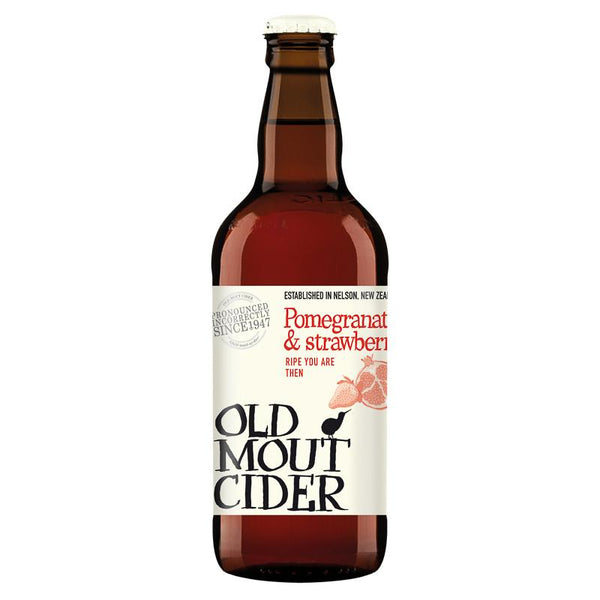 Grocemania Grocery Delivery London| Old Mout Strawberry & Pomegranate 500ml