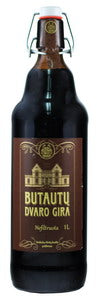"Grocery Delivery London - Dark Kvass ""Butautu Dvaro Gira"" 1.2% Alc. 1L same day delivery"