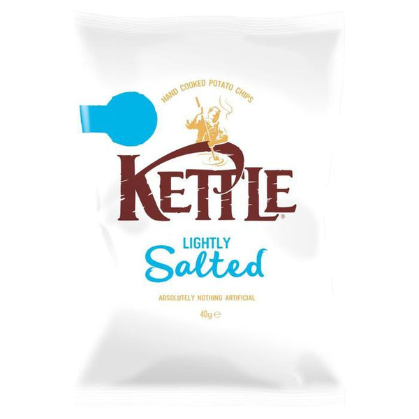 Grocery Delivery London - Kettle Lightly Salted 40g same day delivery