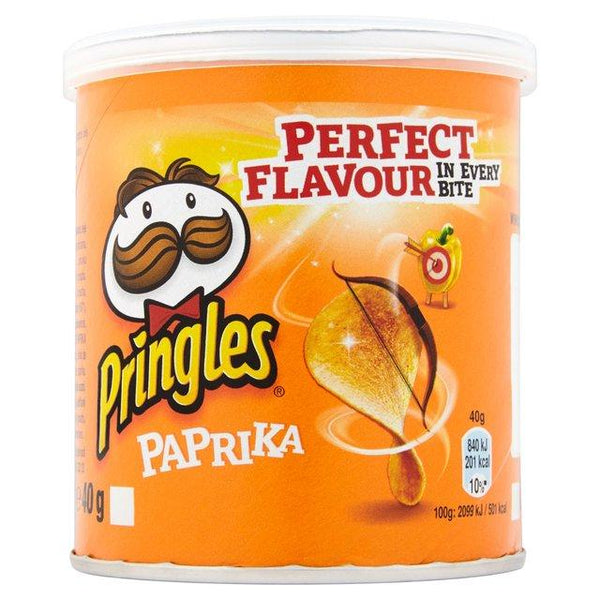 Grocemania Grocery Delivery London| Pringles Pop And Go Paprika 40g