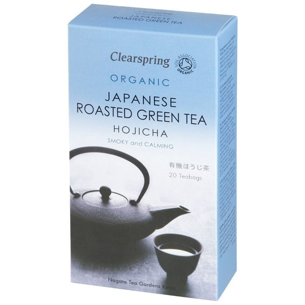 Grocemania Grocery Delivery London| Clearspring Hojicha Roasted Green Tea 20 bags