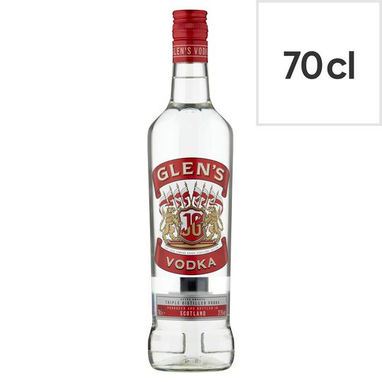 Grocery Delivery London - Glens Vodka 70cl same day delivery