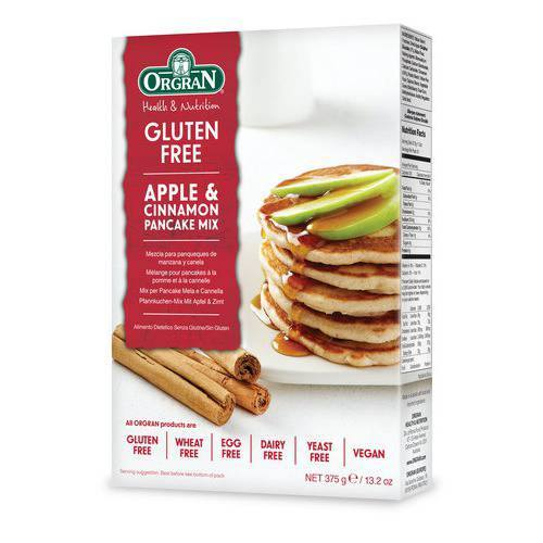 Grocery Delivery London - Orgran Apple & Cinnamon Pancake Mix same day delivery