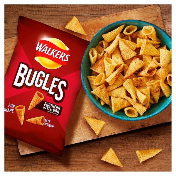 Grocemania Grocery Delivery London| Walkers Bugles Southern Style BBQ 65g