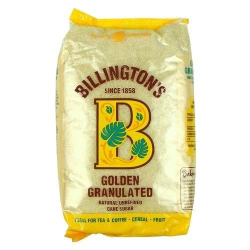 Grocemania Grocery Delivery London| Billington's Golden Granulated Sugar 500g