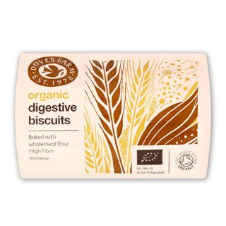 Grocery Delivery London - Doves Farm Digestive Biscuits 200g same day delivery