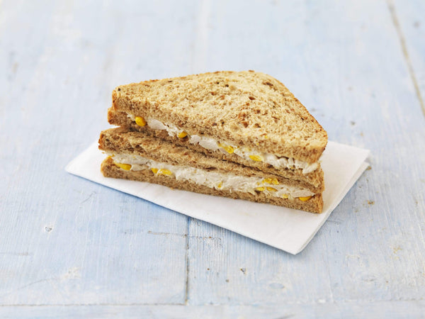 Grocemania Grocery Delivery London| Chicken and SweetCorn - On Malted Bread with Mayo 2pc