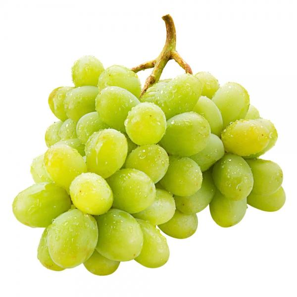 Grocery Delivery London - Green Seedless Grapes 500g same day delivery
