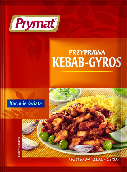 Grocery Delivery London - Prymat Przyprawa Kebab - Gyros same day delivery