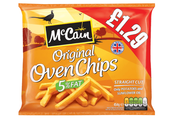 Grocery Delivery London - McCain Oven Chips 454g same day delivery