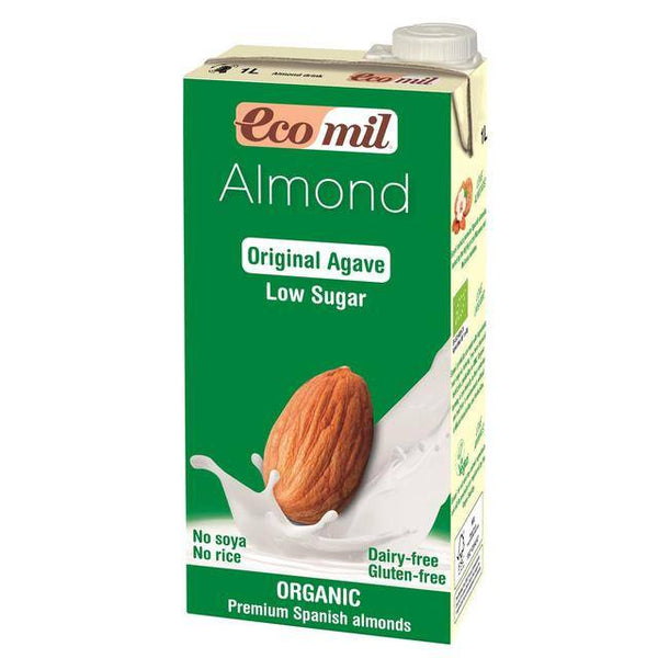 Grocemania Grocery Delivery London| Ecomil Low Sugar Organic Almond Drink 1L