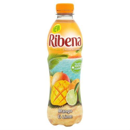Grocemania Grocery Delivery London| Ribena Mango & Lime 500ml