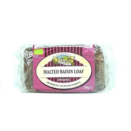 Grocery Delivery London - Everfresh Natural Malted Raisin Loaf 290g same day delivery