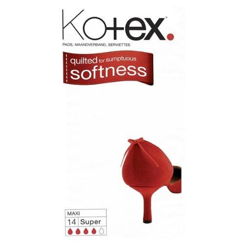 Grocery Delivery London - Kotex Maxi Super Softness 14pk same day delivery
