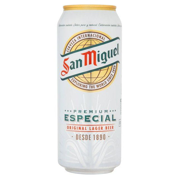 Grocemania Grocery Delivery London| San Miguel Beer 500ml