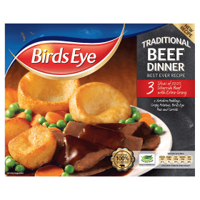 Grocery Delivery London - Bird's Eye Traditional Beef Dinner 400g same day delivery