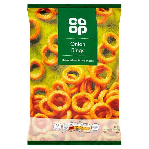 Grocery Delivery London - Co-Op Onion Rings 125g same day delivery