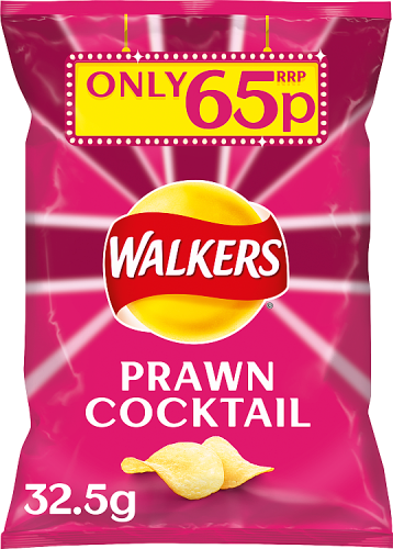 Grocery Delivery London - Walkers Prawn Cocktail 32.5g same day delivery