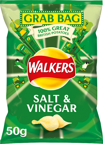 Grocery Delivery London - Walkers Salt & Vinegar 50g same day delivery