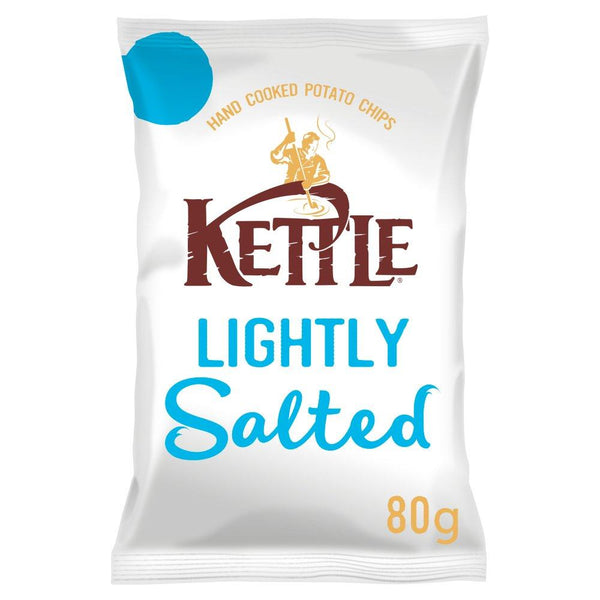 Grocery Delivery London - Kettle Chips Lightly Salted 80g same day delivery