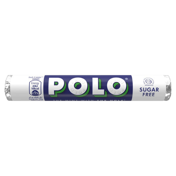 Grocery Delivery London - Polo Sugar Free Tube 33.4g same day delivery